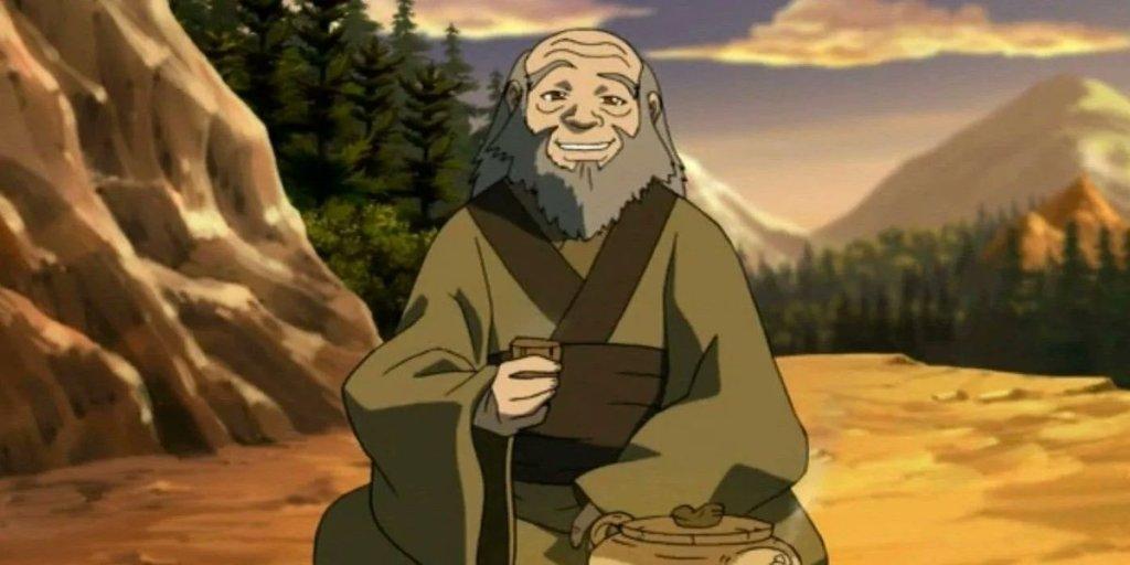 Iroh drinks tea
